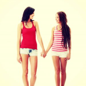 Gay Girls Holding Hands 1