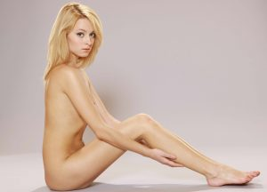 Young Blonde And Naked